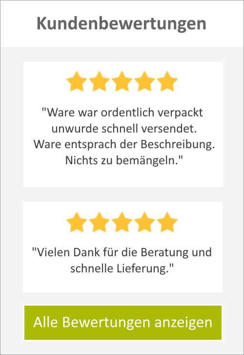 Kundenbewertungen greenlabshop.de